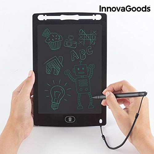 InnovaGoods Magic Drablet - Tablet LCD para Dibujar y Escribir, Color Negro
