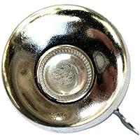 LIOOBO Accessoire de vélo Classique rétro Sonnerie de Sonnette d'alarme métal Guidon Mini klaxon de vélo Vintage (Couleur Lumineuse 52mm)