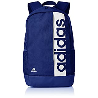 adidas Unisex's Linear Performance Backpack, Mystery Ink White, 46 x 27 x 16.5 cm