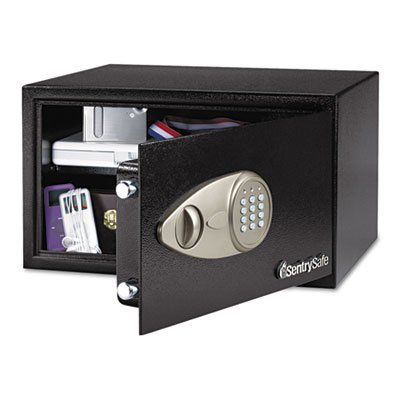 Top Sentry X105 Security Safe Electronic Lock 4mm Door 2mm Walls 30.5 Litre 14.1kg W430xD370xH225mm Ref X105 Review