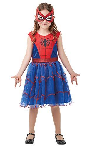 Mit Kostüm Mädchen Spiderman Tutu - Rubie's 300101 5-6 Kostüm Mädchen Mehrfarbig