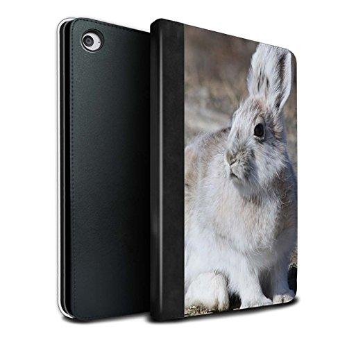 stuff4-pu-pelle-custodia-cover-caso-libro-per-apple-ipad-mini-4-tablet-bianca-artico-lepre-artico-an