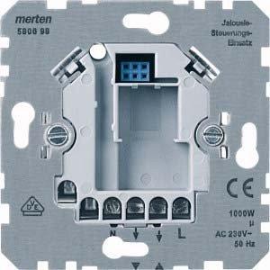 Preisvergleich Produktbild Merten 580698 Jalousiesteuerungs-Einsatz Standard, 1000 VA