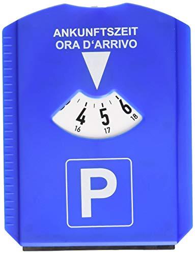 Cora 001128217Pz Raschiaghiaccio con Disco Orario, Blu