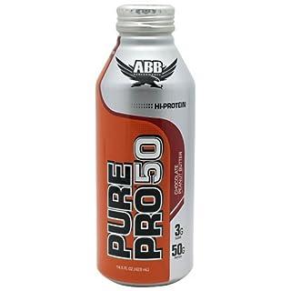 Pure Pro 50 Hi-Protein RTD 12/14.5 oz Choc PB by ABB