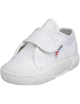 Superga 2750 Bevel, Zapatillas Unisex Para Niños, Blanco (White), 23