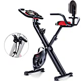 Sportstech Vélo d'Appartement F-Bike X100-B 4-en-1 Home Trainer Vélo...