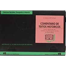 Comentario de textos históricos: Cómo interpretar las fuentes de información escrita en Secundaria (Materiales 12/16 para Educación Secundaria) - 9788427712195