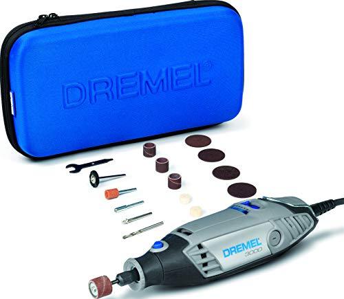 Dremel F0133000JA Multifunktionswerkzeug 3000-15 (15tlg. Zubehör Set, Softbag, 130 Watt)