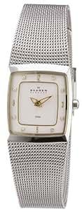 Skagen Damen-Armbanduhr Analog Quarz Edelstahl 380XSGS1