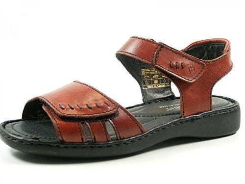 Josef Seibel 73715 Lisa 01 Schuhe Damen Sandalen Sandaletten Rot