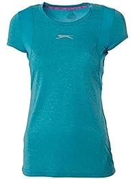 Slazenger Femmes Ultralite Gym Running Débardeur T-shirt