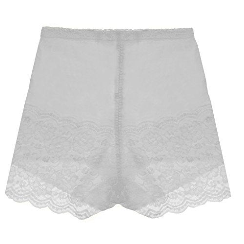 Damen Unterwäsche Slip Unterhosen Sicherheits Shorts Unterwäsche Kurz Leggings Panties Softe Spitze Hipster Pantys.weiß - Lace Low Rise Leggings