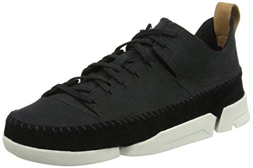 clarks-originals-trigenic-flex-womens-low-top-sneakers-black-black-nubuck-8-uk-42-eu