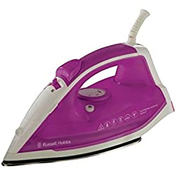 Russell Hobbs 22491 Supreme Fer à Repasser Traditionnel 2400W - Blanc/Rose