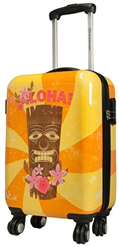 Hawaii 1 Taille L carbone/polycarbonate rigide Valise trolley Case FA. Valise bowatex