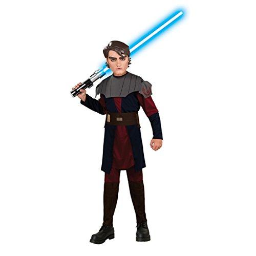 Anakin Skywalker Kostümset Clone Wars Kinderkostüm M 128 cm Linzenzartikel Star Wars Jedi Ritter Verkleidung Mottoparty Outfit
