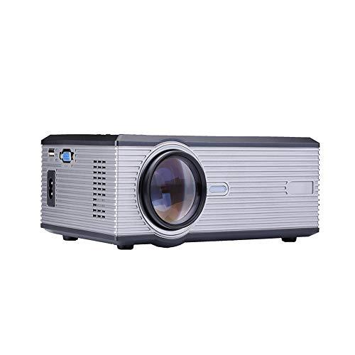 JYL Freizeit-Mini-Projektor, 1500 Lumen tragbares Heimkino, 1080P unterstützt, 130-Zoll-Projektionsgröße, kompatibel mit USB, SD, HDMI, VGA,B 37 In 1080p Lcd Tv