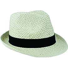 Storfisk fishing   more Adulto Sombrero de paja Panamá Sombrero con el  sudor banda en dos 0be5ce36cb1