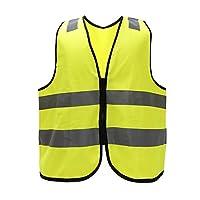 5 colors Adult High Visibility Hi Viz Vest Waistcoat Workmans Safety hi vis vest(XXS-XXL)