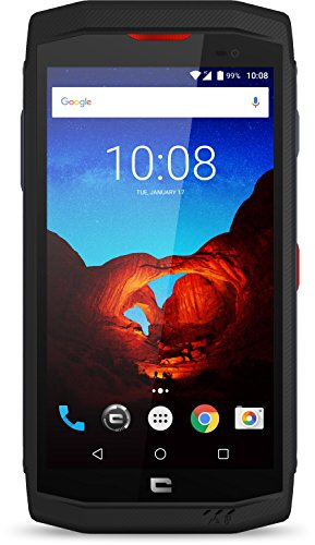 Crosscall Trekker-X3 Premium Edition Smartphone Portable débloqué 4G (Ecran: 5 Pouces - 32 Go - Nano-SIM - Android) Noir + X-Play Ecouteurs sans-Fil + Protection Ecran Verre Trempé