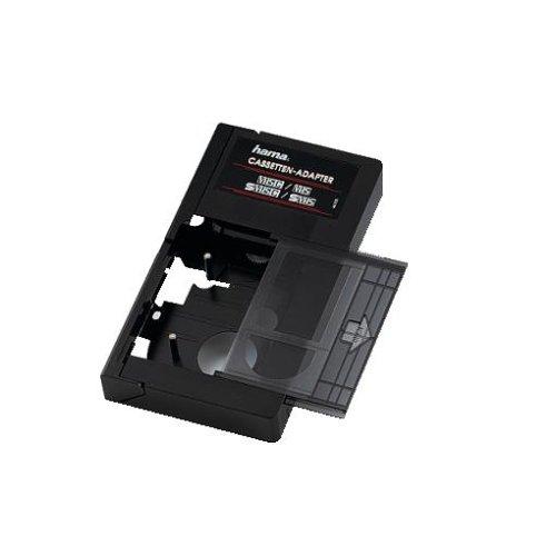 Hama manueller VHS-C/ VHS und S-VHS-C/VHS-C Kassettenadapter (nicht für Hi8)