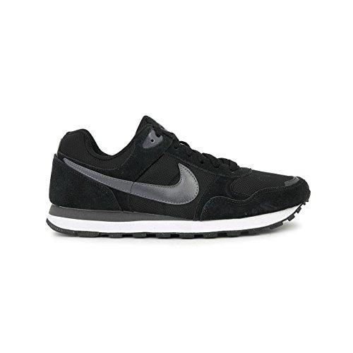 Nike MD RUNNER TXT SP15, Sneaker, Uomo Nero/Verde