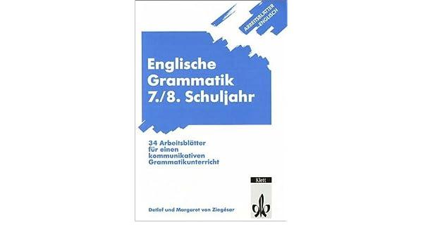 Awesome Klasse 7 Englisch Grammatik Arbeitsblatt Collection ...