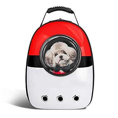 YPSMLYY Portador Portátil para Mascotas Cápsula Espacial Burbuja Mochila para Mascotas Mochila para Viajeros Bolso Portátil Impermeable Y Transpirable Gato Cachorro Y Animal Pequeño de YPSMLYY