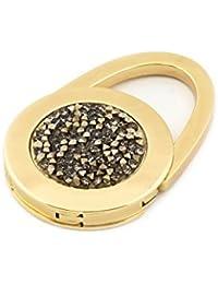 taeshy Original Handtaschenhalter glam charms metallic crystals by Swarovski® - Handmade in Germany.