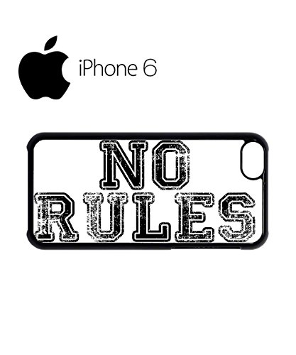 No Rules Rude Fresh ASAP Dope Swag Mobile Phone Case Back Cover for iPhone 6 Black Noir