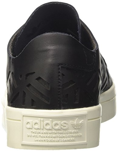 adidas Damen Courtvantage Cutout W Laufschuhe Mehrfarbig (Core Black Core Black Off White)