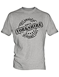 Made In Yorkshire - Mens T-Shirt T Shirt Tee Top