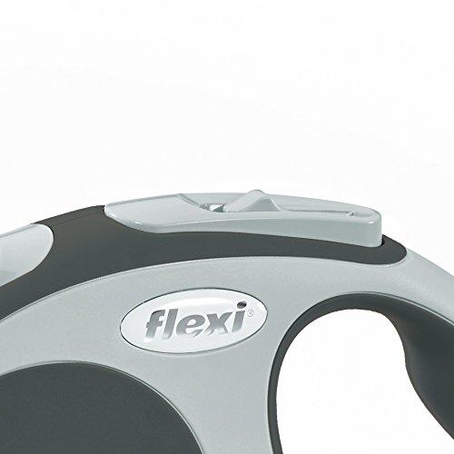 flexi Roll-Leine Vario L Gurt 8 m anthrazit für Hunde bis max. 50 kg - 3