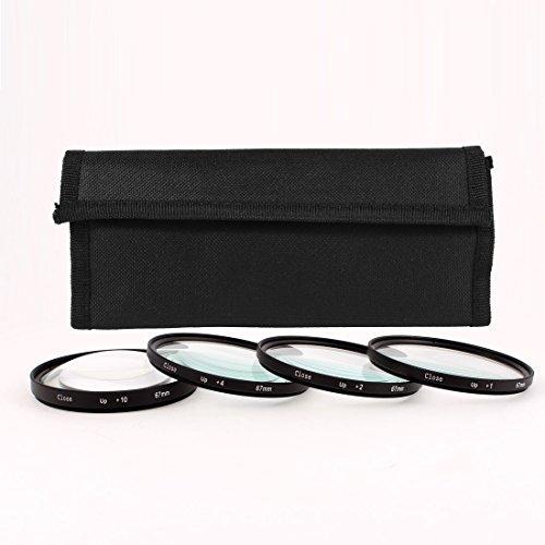 67mm Makro Nahlinse +1 +2 +4 +10 Filter Kit für DSLR-Kamera