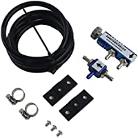 ANR Ajustable 1-30 PSI Racing Turbo Manual MT Turbo/Turbocharger Boost Controller Kit Regulador de presión Turbo Accesorios para automóviles (Azul)