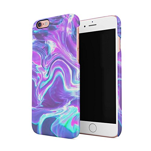 Holographic Water Print Tie Dye Rainbow Colorful Pale RAD Indie Boho Tumblr Hard Thin Plastic Phone Case Cover For...