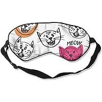 Cartoon Cat Expression Pattern 99% Eyeshade Blinders Sleeping Eye Patch Eye Mask Blindfold For Travel Insomnia... preisvergleich bei billige-tabletten.eu