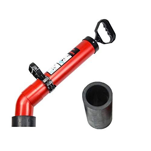 Hochdruck Abflussreiniger I Made in Germany I hochwertige Rohrreinigungspumpe I zur unfassbar schnellen und effektiven Rohrreinigung I Inkl. 2 Adapter