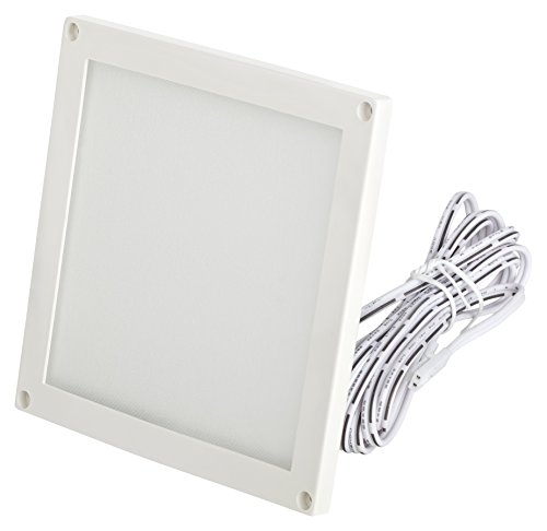 LED Panel mini ultra flach 12V Einbauleuchte 3W Unterbauleuchte 100 x 100 x 5mm Möbeleinbau -