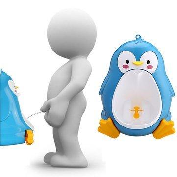 Bazaar Baby Pissoir Kleinkind Potties Jungen Pee Trainer Kinder Removable Schöne Penguin WC Badezimmer
