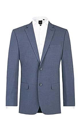 5bff13747127 Dobell Homme Veste de Costume Bleue Ardoise  Amazon.fr  Vêtements et ...