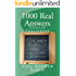 1000 Real Answers - English Phrasebook (English Edition)