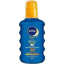 Nivea Sun Pflegendes Sonnenspray LSF 50+, 1er Pack (1 x 200 ml)