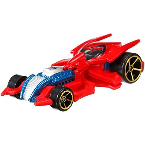 Hot Wheels, Marvel Character Car, Spider-Man #4 by Mattel