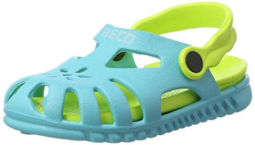 Beco Unisex-Kinder Kindersandalen-90026 Slingback Sandalen, Blau (Blau 6), 26 EU