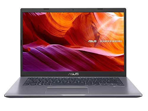 ASUS VivoBook 14 X409FA-EK502T Intel Core i5 8th Gen 14-inch FHD Light and Compact Laptop (8GB RAM/512GB NVMe SSD/Windows 10/Integrated Graphics/Fingerprint Reader/1.6 kg), Slate Gray