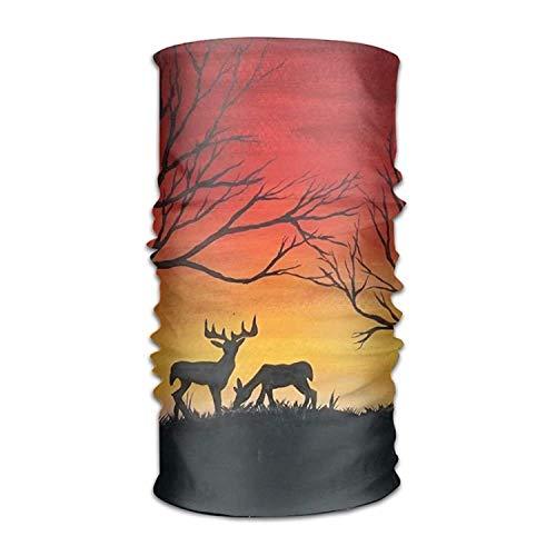 Kopfbedeckung Sunset Deers Outdoors Daily Kopfbedeckung Including Headband,Neck Gaiter,Bandana