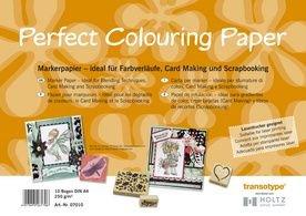 COPIC 07010 Marker Papier DIN A4, 10 Blatt (Business Card Stock Papier)