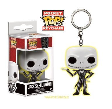 Funko - Figurine NBX - Jack Skellington Glow Exclu Pocket Pop 4cm - 0849803064112